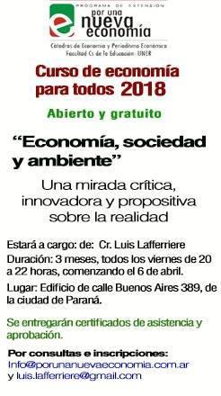 Curso Economía para todos 2018