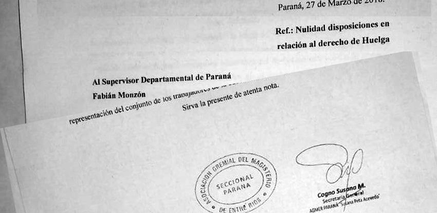 Susana Cogno planteó la nulidad de toda acción contra el derecho de huelga