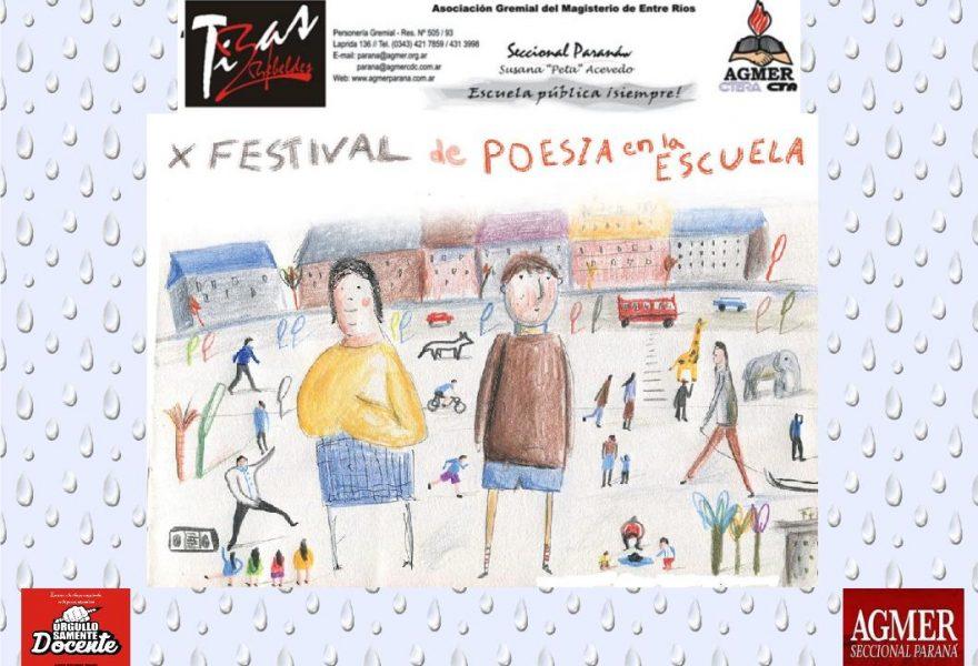 X Festival Nacional de Poesía en la Escuela en Paraná