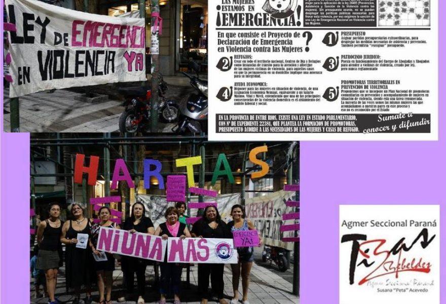 Por la Emergencia contra la Violencia de Género