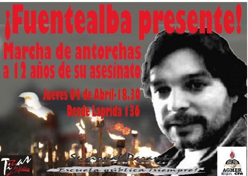 Carlos Fuentealba.  Presente!!!