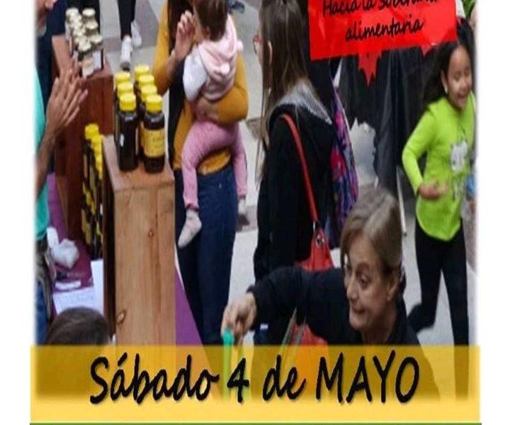 Sábado 4 de mayo,  Feria de Alimentos Saludables. de 9 a 14 hs  en Agmer Seccional Paraná  Laprida 136