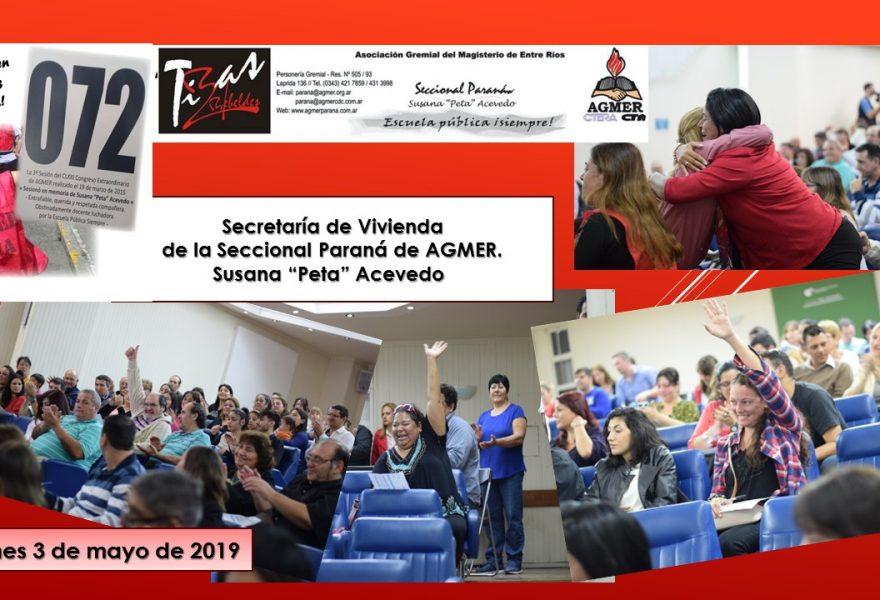 Un sueño, una necesidad y un derecho: 44 docentes de Paraná tienen su primera casa