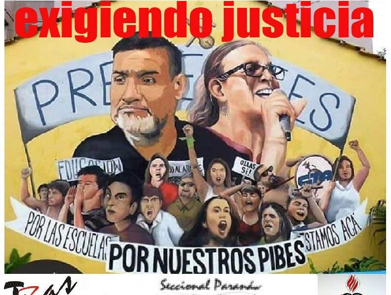 Llevamos 9 meses exigiendo Justicia. ¡Sandra y Ruben Presentes!