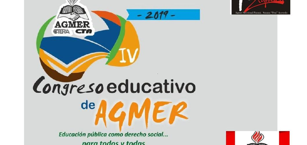 IV Congreso Educativo de AGMER