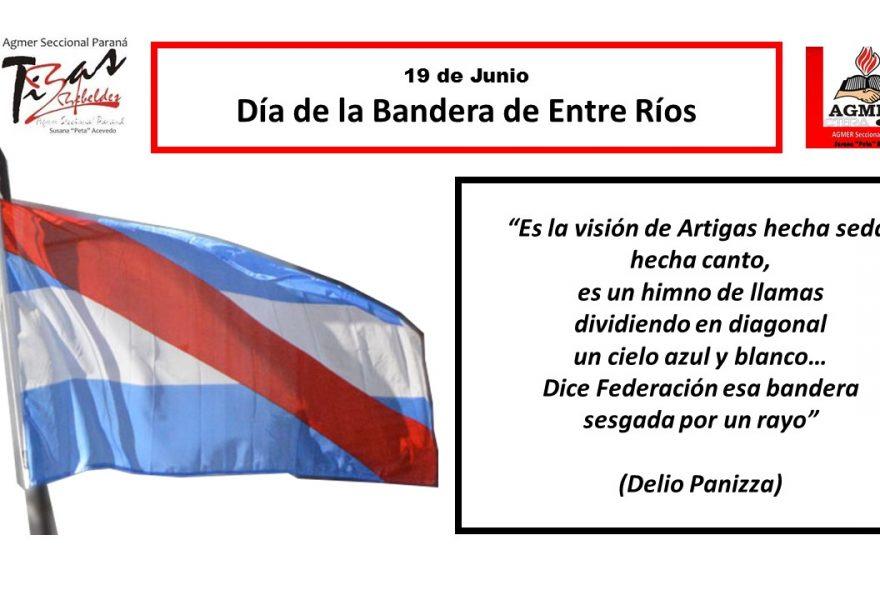 19 de Junio. Día de la Bandera de Entre Ríos