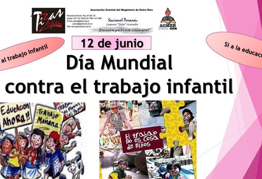 12 de junio Día Mundial contra el maltrato infantil