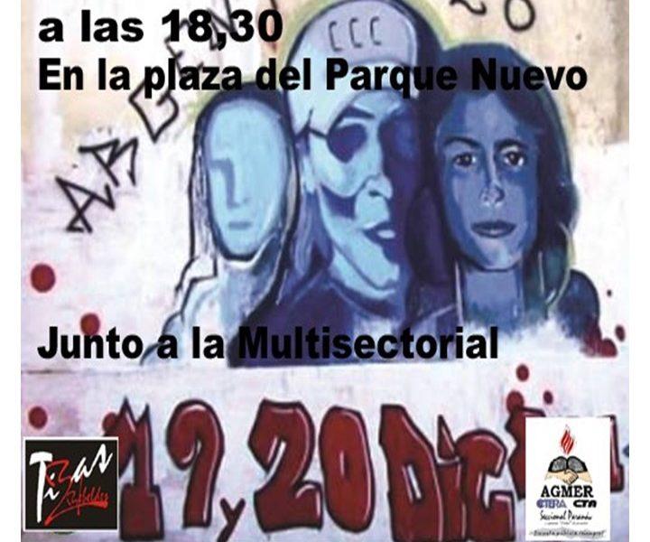 18º Aniversario del Argentinazo