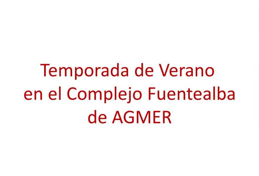 Temporada de verano en el Complejo Fuentealba de AGMER