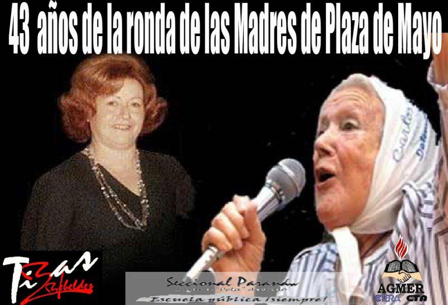 Jueves, un grupo de mujeres, la Plaza, MADRES