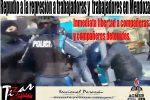 Repudio a la represión a trabajadores en Mendoza