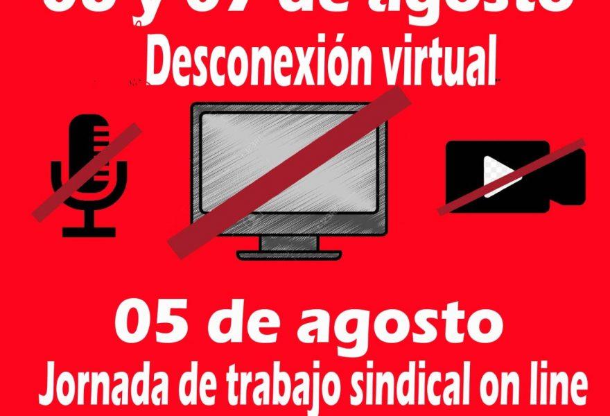 Desconexión Virtual 6 y 7 de agosto de 2020