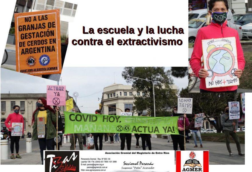 La escuela y la lucha contra el extractivismo