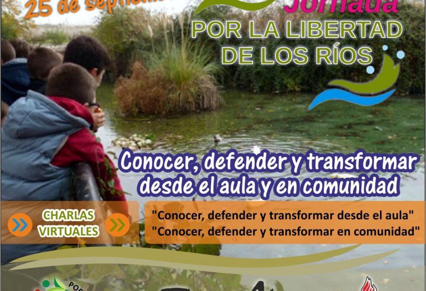 9na Jornada por la Libertad de los Ríos. Charlas Virtuales
