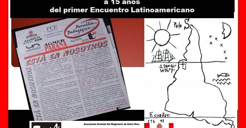 La lucha por la alfabetización a 15 años del primer Encuentro Latinoamericano