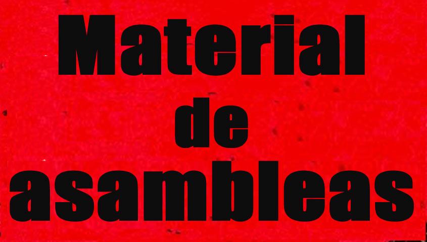 Material de asambleas