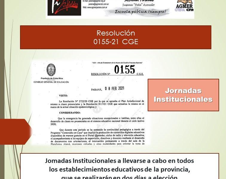 Jomadas Institucionales