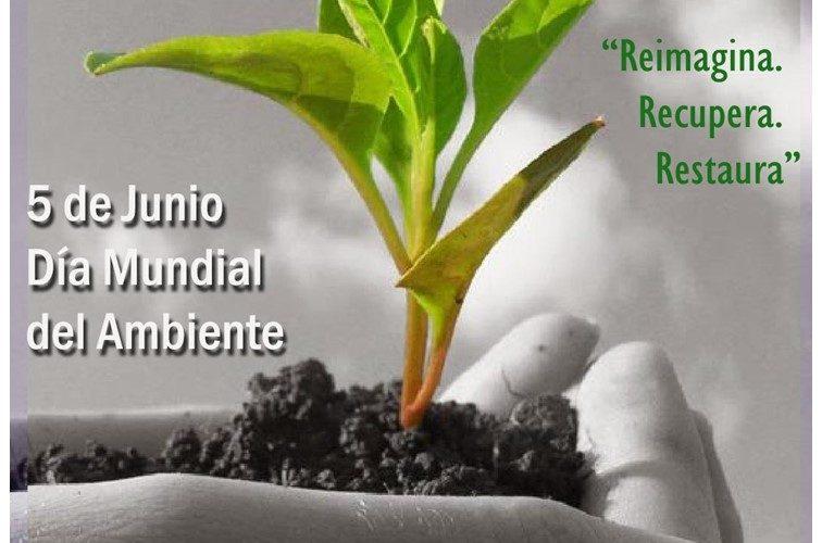5 de junio: Día Mundial del Ambiente. 2021.
