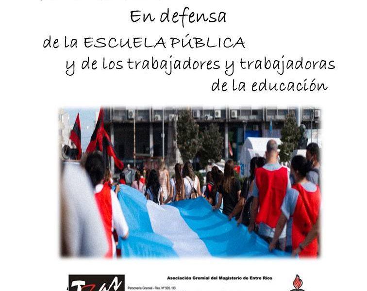 Cuarenta años en la defensa de la escuela pública y de las trabajadoras y los trabajadores de la educación