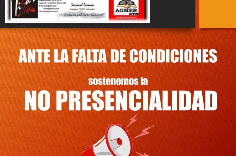 Adelantos de Resoluciones del CXCII Congreso Extraordinario de AGMER (2da sesión, Virtual)